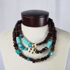 Jewelry - Earth Tone Statement necklace